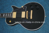 Schwarze Schönheit kundenspezifische Les Langspielplatte-Qualitätselektrische Gitarre