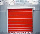음식 공장을%s 문이 고속 PVC 직물에 의하여 위로 구른다