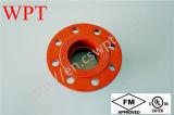 FM UL 300psi Ductile Iron Grooved Flange Adaptor