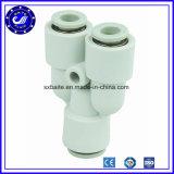 Montaggio rapido pneumatico della macchinetta a mandata d'aria di tubo flessibile della Cina dei montaggi di tubo pneumatico dei montaggi rapidi di plastica pneumatici del montaggio