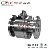 Bas-de-ligne Iron/Steel Forged Floating Ball Valve avec API/CE/ISO Certificate