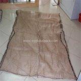 Оптовый бежевый мешок сетки для упаковывая швырка