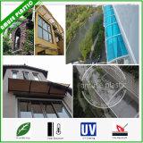 DIY Markise, Tür-Fenster-Blendenverschluß, Polycarbonat-Garten-Farbton-Halle-Markise