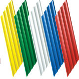 De verschillende Tegels van het Dak van het Cement van de Kleur van het Type