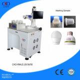Machine de gravure rotatoire de laser d'inscription de fibre économique des prix