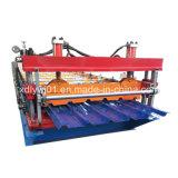 Roulis hydraulique de panneau de tuile de toit en métal 950 formant la machine