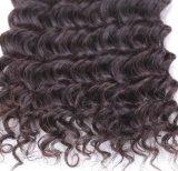Оптовые золотистые волосы красотки 8A Remy Unprocessed с глубокой текстурой волны