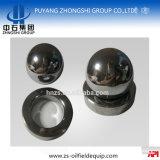 Portée de robinet à tournant sphérique de soupape de carbure de tungstène de paires de la soupape V11-250
