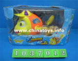 Heiße verkaufende elektrische Fisch-Plastikspielwaren, Kinder brennen das Balloontoys durch (1037002)