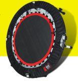 トランポリンの安全策および梯子6FT-16FTが付いている屋外の練習の適性装置の体操のトランポリン