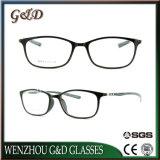 Het populaire Optische Frame van het Oogglas Ultem Plastic Eyewear met Tempel 8010 van de Vezel van de Koolstof