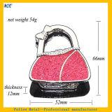 분홍색 반짝임 분말 테이블 핸드백 훅을 접히는 대중적인 Portable
