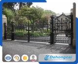 De decoratieve Klassieke Poort van het Smeedijzer van de Veiligheid (dhgate-8)