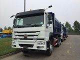 Длинняя тележка сброса 336HP Sinotruk HOWO 6X4 Dumper кабины, Euroii