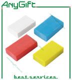 Gomme à effacer en caoutchouc avec la forme et la couleur adaptées aux besoins du client