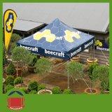 حارّ عمليّة بيع [هيغقوليتي] يطوي خيمة مع طباعة لأنّ يعلن