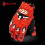 Кожаный перчатки, выполненная на заказ перчатка мотоцикла, перчатка спорта зимы
