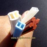 Casquillo transparente de encargo del caucho de silicón de la categoría alimenticia alto