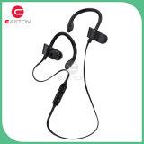 Fones de ouvido audio sem fio estereofónicos do esporte do Mic da prova do suor de Bluetooth