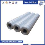 Cartucho de filtro del hilado de la herida Filter/PP de la cadena para el filtro del sedimento