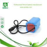 Cilindrisch Pak van de Batterij 18650 7.4V 4000mAh 2s2p met PCM en Schakelaars