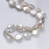 Conjunto natural de la joyería de la perla de las mujeres de la dimensión de una variable de la moneda de Snh