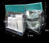 PVC化粧品のための明確なバックルのハンドルのパッキング袋