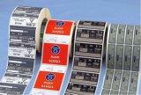 Etiquetas impresas de la escritura de la etiqueta de las etiquetas autoadhesivas