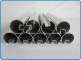 Tubos del acero inoxidable con el canal