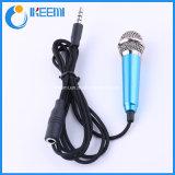 Mini Microfone Condensador Gravação de Voz de Karaoke Computador de Telemóvel Sing Miniature Mic Microphone