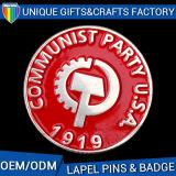Emblemas feitos sob encomenda materiais do presente do metal do bom metal do preço