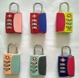 Sicherheits-Gepäck Tsa Zink-Legierungs-Verschluss mit Number&Anti-Diebstahl Verschluss