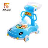 China-spezieller Baby-Großhandelswanderer mit 4 Plastikrädern