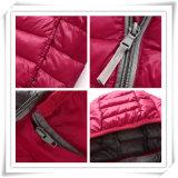 Het uitstekende kwaliteit Aangepaste Vrouwelijke Warme Kostuum van de Ski onderaan Jackst voor Kinderen 608