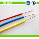 Calibre de diâmetro de fios do fio elétrico 12 do UL Thhn/Thwn da Dinamarca Yuan
