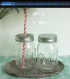 Freie Weinlese-Kugel-vollkommene Maurer-Gläser mit Kappen