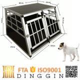 Casa de cão de alumínio especial do tronco de carro