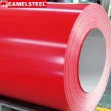 La prima prepintó la bobina de acero galvanizada de Camelsteel