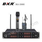 Système sans fil noir du microphone Bu-3980