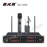 Sistema sin hilos negro del micrófono Bu-3980