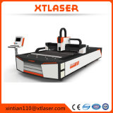 cortadora del laser de la fibra del tubo 1000W y del tubo con la pista del laser de Raytools