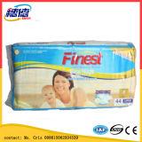 Tecido descartável do bebê dos tecidos de Prefolded
