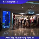Leicht Lieferung Aluminiumrahmen Stoff LED Werbung Light Box