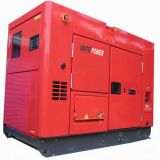 Unir le groupe électrogène insonorisé de moteur diesel du pouvoir 30kVA à l'engine de Perkins