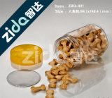 Меда пчелы свободно образца бутылка свободно ясного пластичная с пластмассой формы медведя