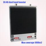 La alta calidad 2100 2600MHz se dobla amplificador de la señal de Lte 2600MHz WiFi del aumentador de presión de la señal del aumentador de presión 4G de la señal de la venda 3G 4G