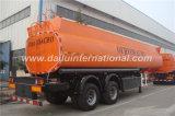 De 2 essieux de carburant /huile de stockage de réservoir de camion de remorque remorque semi