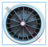 rodas contínuas do carro da ferramenta do pneumático do PVC 8X1.75