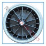 8X1.75 단단한 PVC 타이어 공구 손수레 바퀴