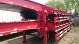 3 Semi Aanhangwagen van het Bed van de Aanhangwagen van assen 80t de Lage